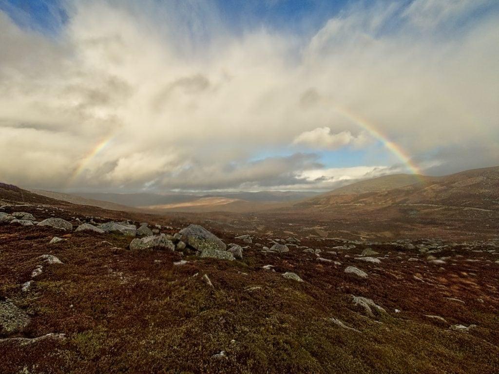 BBC Winterwatch - The Cairngorms - Rainb