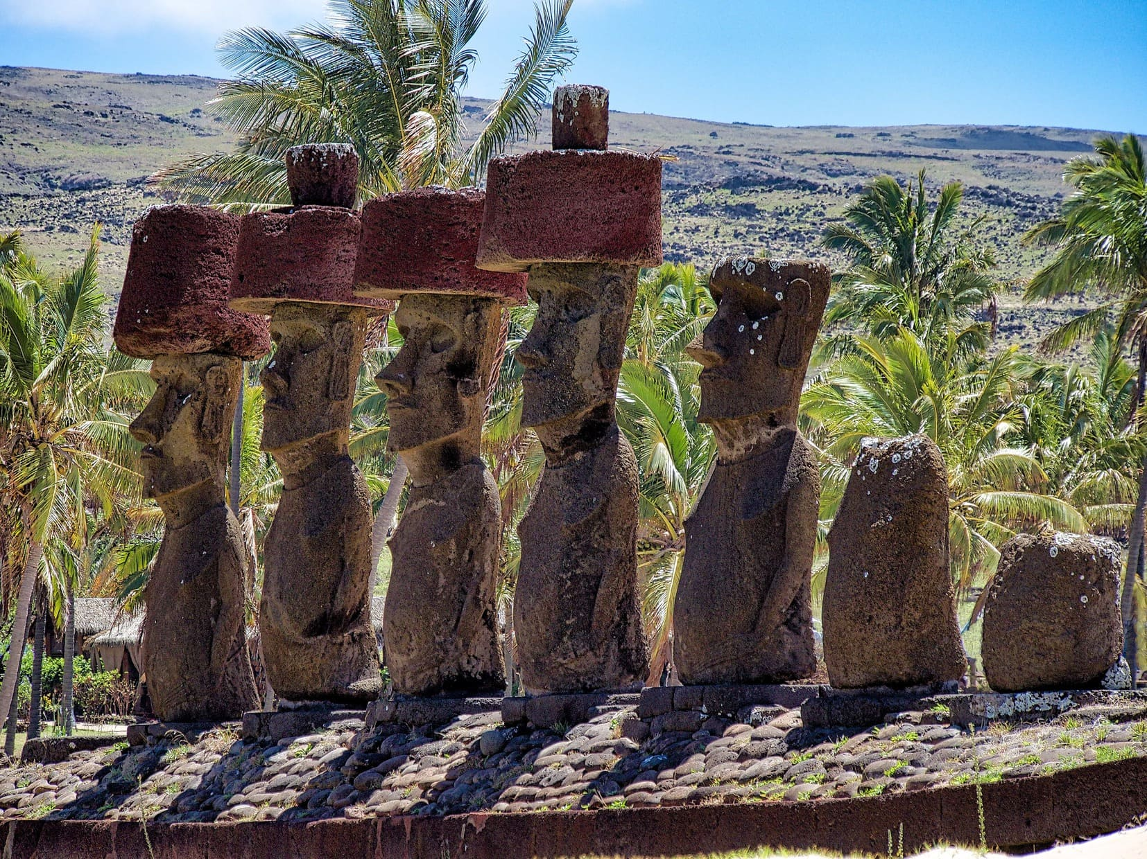 Ahu Tongariki : Easter Island