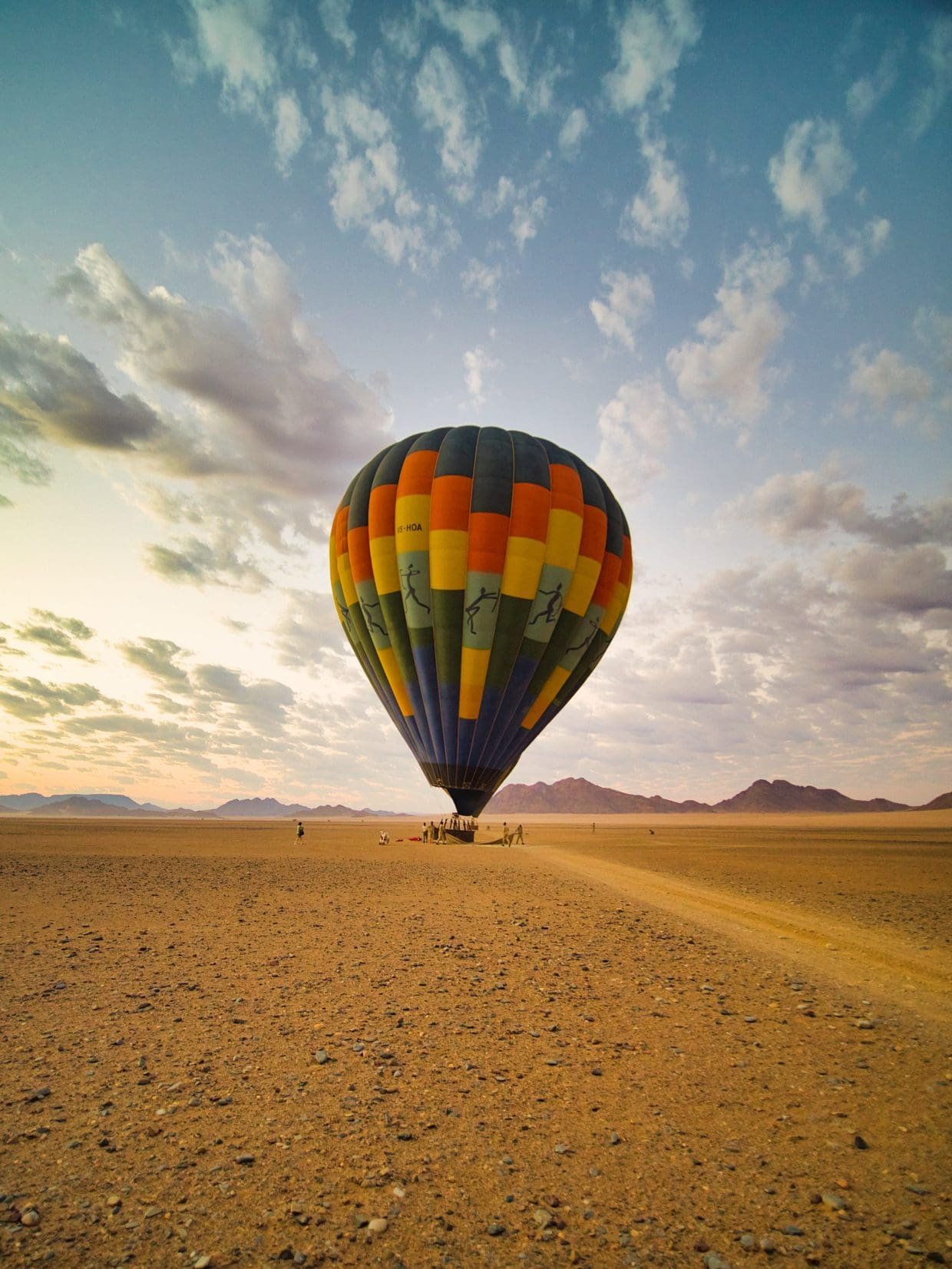 Hot Air Ballooning over Sossusvlei