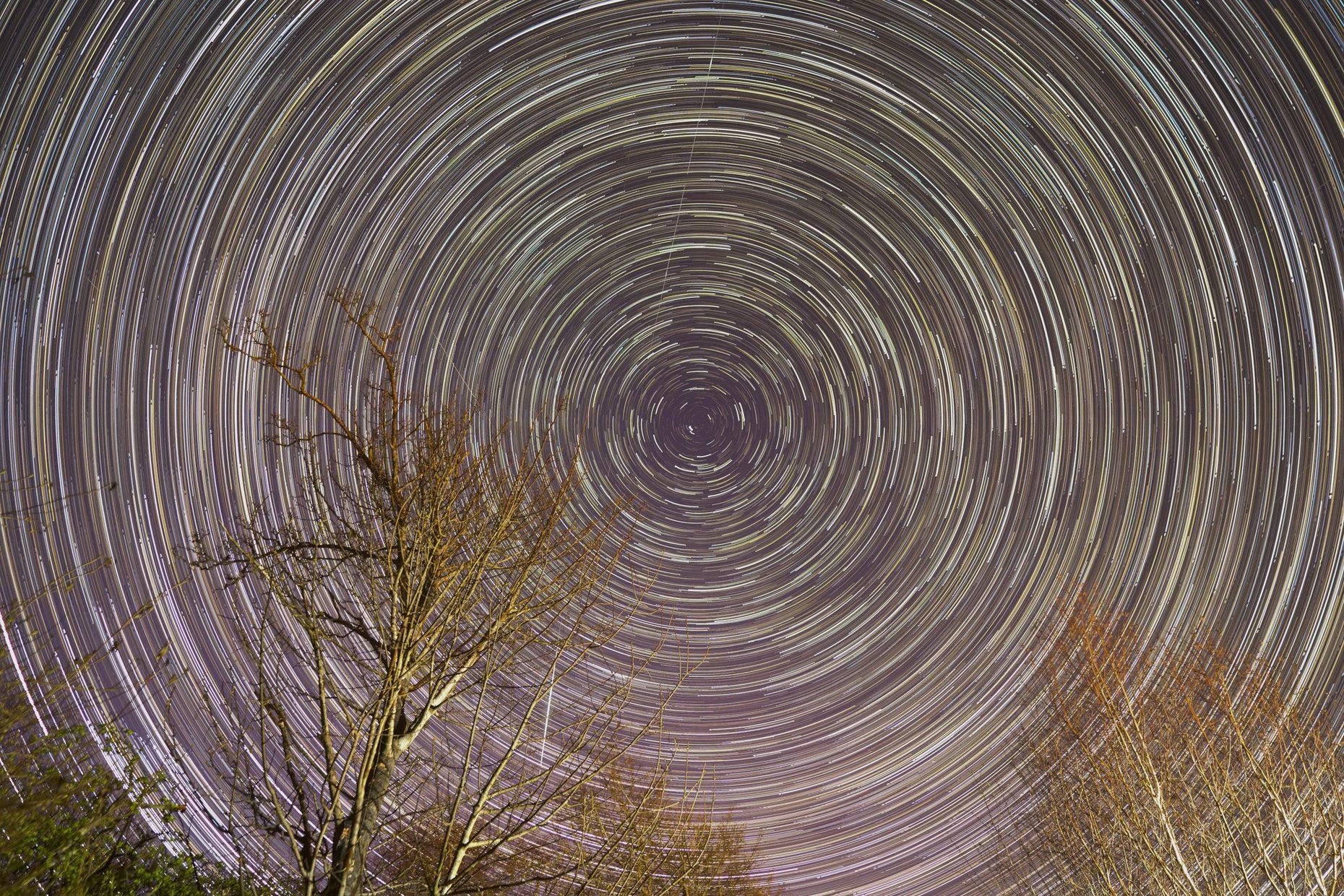Star Trails. Aberdeenshire, Scotland